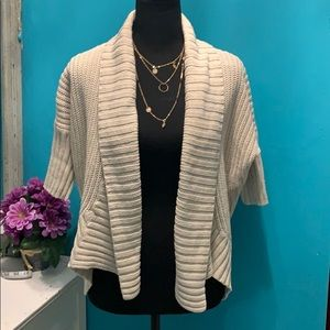 Express CreAm Cardigan